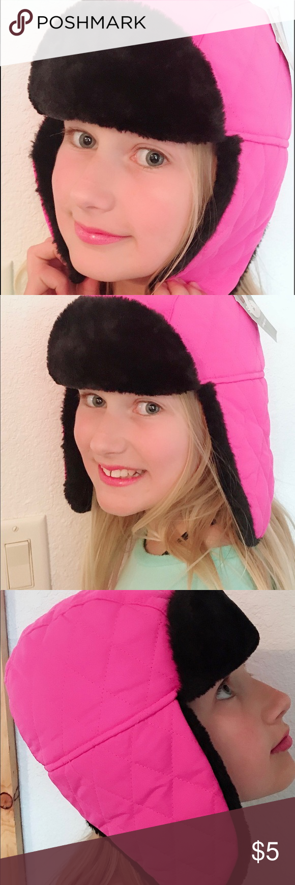 a859a28ac4127 Swiss Tech Performance Gear Fur Trapper. Brand New Swiss Tech Electric Pink Fur  Trapper Hat. One Size. With Black Faux Fur On The Inside.