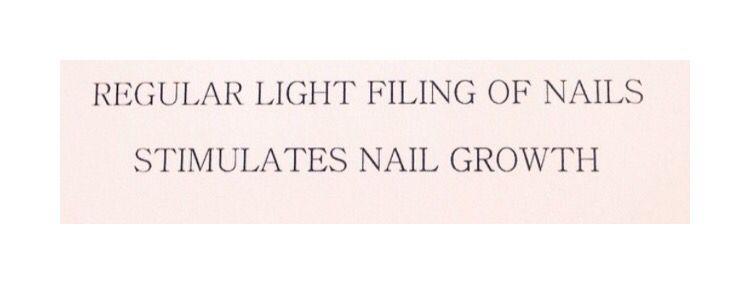 Regular nails filling help nail growth #beautytips