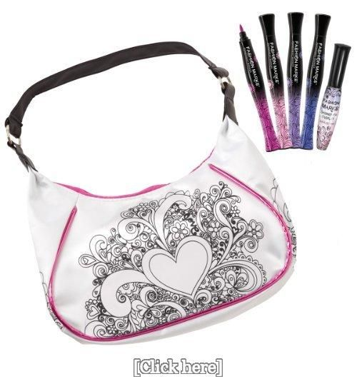 FASHION MARKS Designer Handbag, Luscious Color Palette