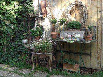 dekoriertes tischlein wohnen und garten foto garten garden pinterest gardens in the. Black Bedroom Furniture Sets. Home Design Ideas