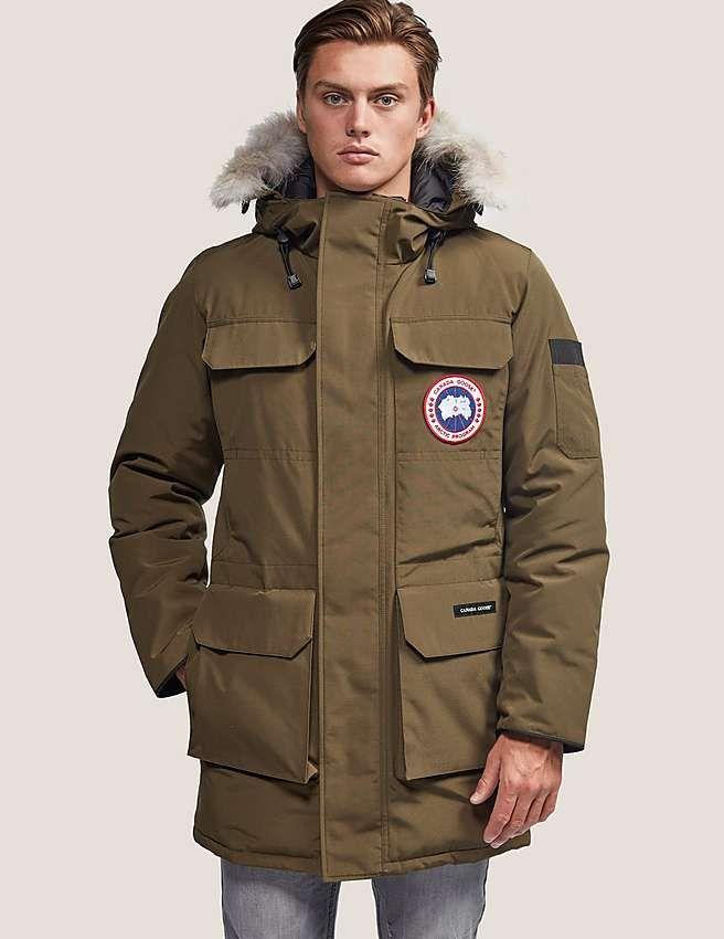 green Canada Goose Citadel Parka Jacket