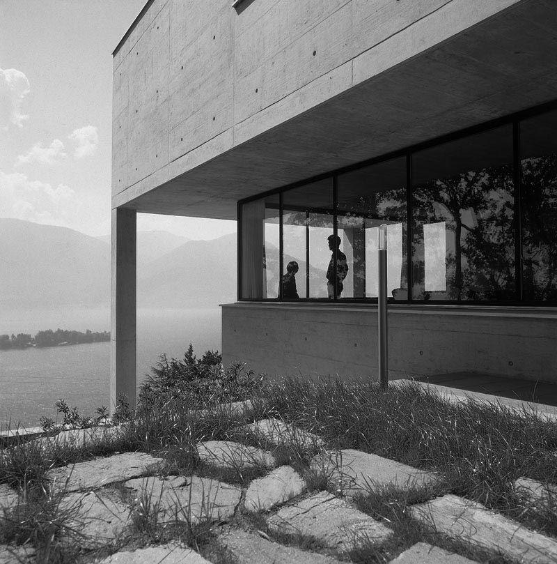 Diener House Ronco Switzerland Luigi Snozzi Photo Reiner Blunck Architecture Exterior Architecture Architecture Design