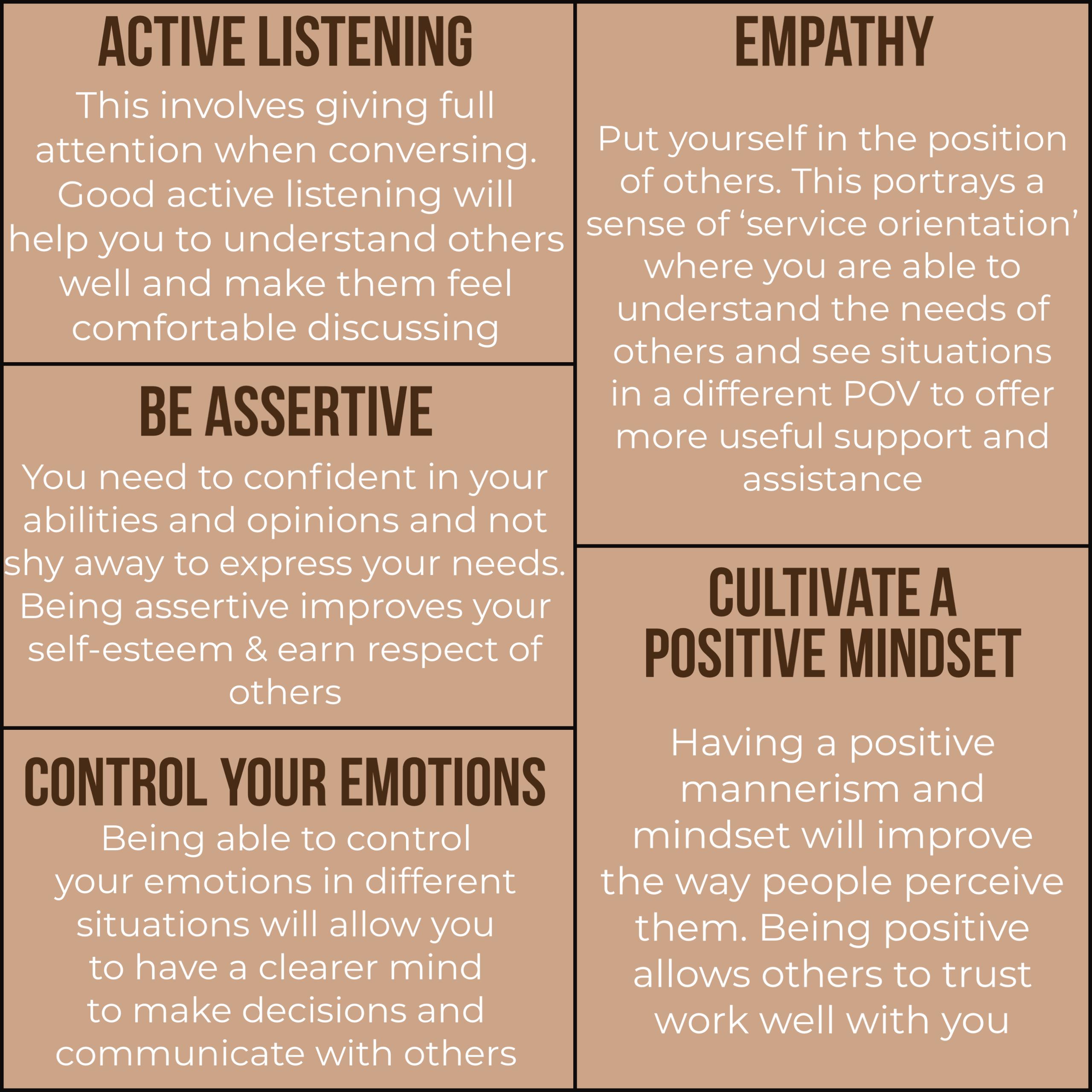 5 Important Interpersonal Skills