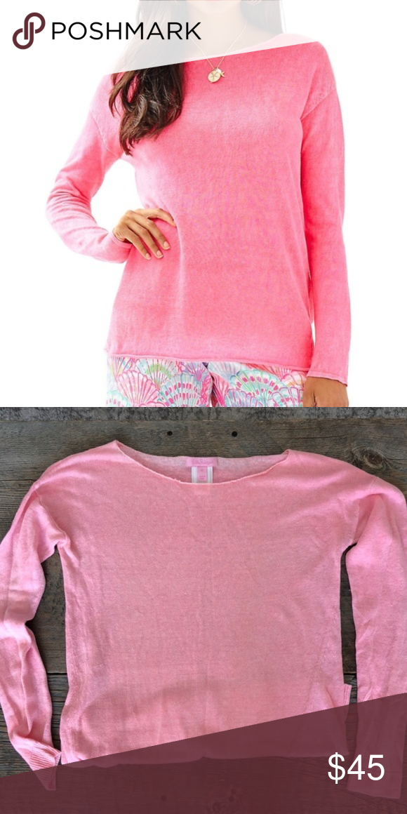 2991b0ad608 ✨Host Pick ✨ Lilly Pulitzer Pink Sweater Size XS Lilly Pulitzer Alana Pink  Sweater