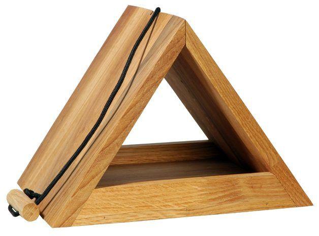 dreieckiges eiche vogelhaus mit kordel aufh ngung pinterest kordel vogelh user und eiche. Black Bedroom Furniture Sets. Home Design Ideas