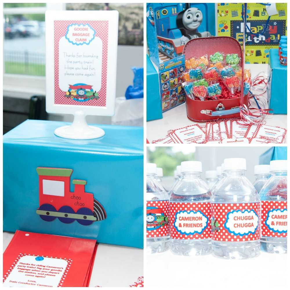 Thomas the Train party Birthday Party Ideas | Photo 3 of 32 | Catch My Party