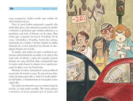 """""""Perdido en la ciudad"""", de Manuel L. Alonso, con ilustraciones de Laura Catalán"""
