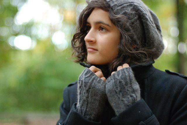 New Hat & Mitts by throughtheloops, via Flickr