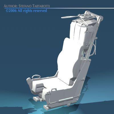 ejection seat 3d model obj 3ds dxf 8 | katapult ülés