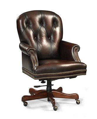 harrison leather home office chair swivel home office furniture