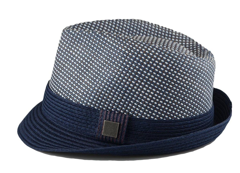 Mens Big Size 2 Tone Summer Straw Fedora Trilby Hat XL(60cm) XXL ... 2d10045d5b4