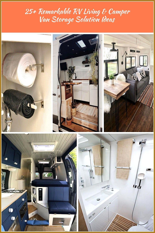 25 Remarkable RV Living 038 Camper Van Storage Solution Ideas rvliving campervan storagesolutions i