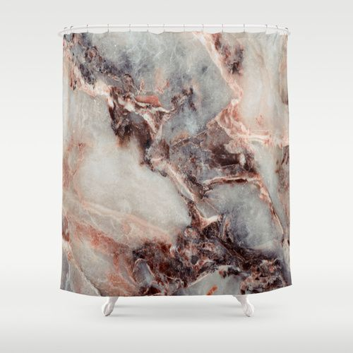 Marble Texture 85 Shower Curtain