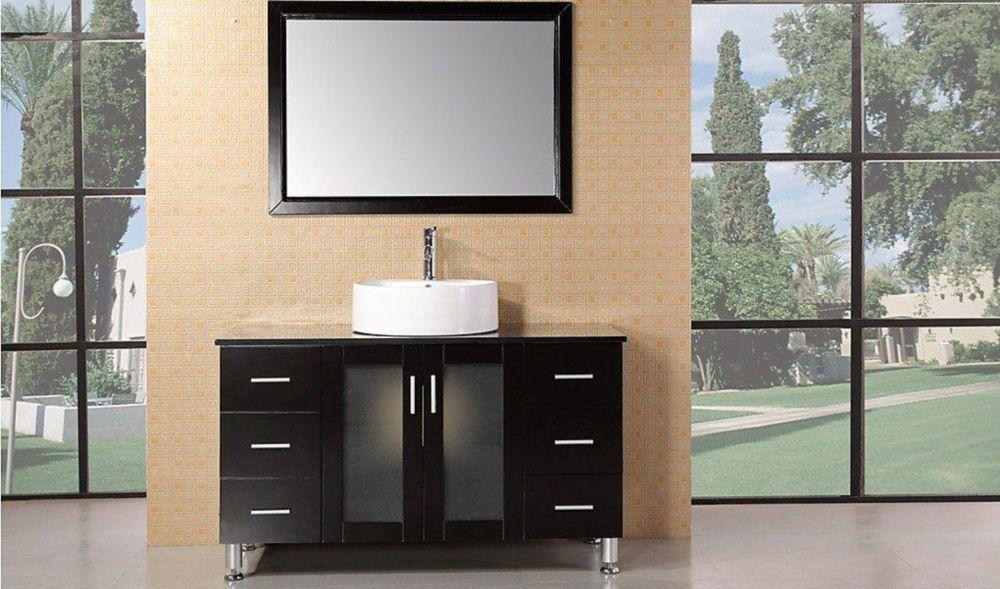 Malibu 48-inch W Vanity in Brown Products Pinterest Sink