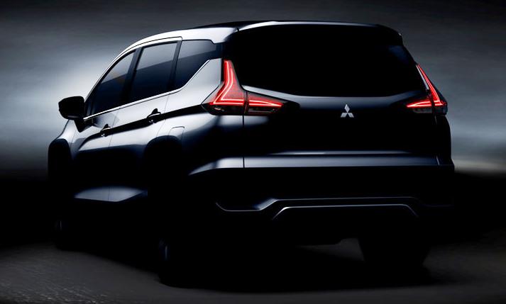 Mitsubishi Xpander Teaser Back Mobil Mpv Mobil Konsep Mobil