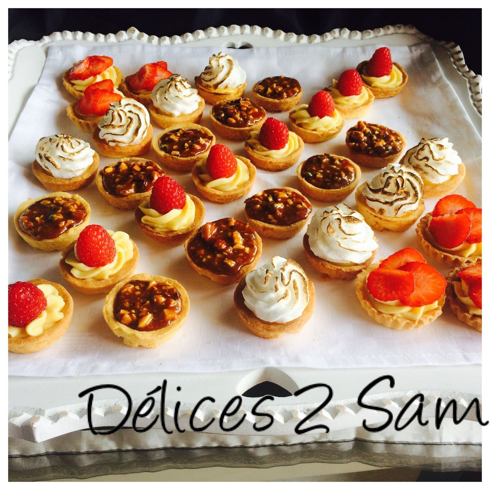 Mini tartelettes - Delices de Sam #turtlecheesecakerecipes