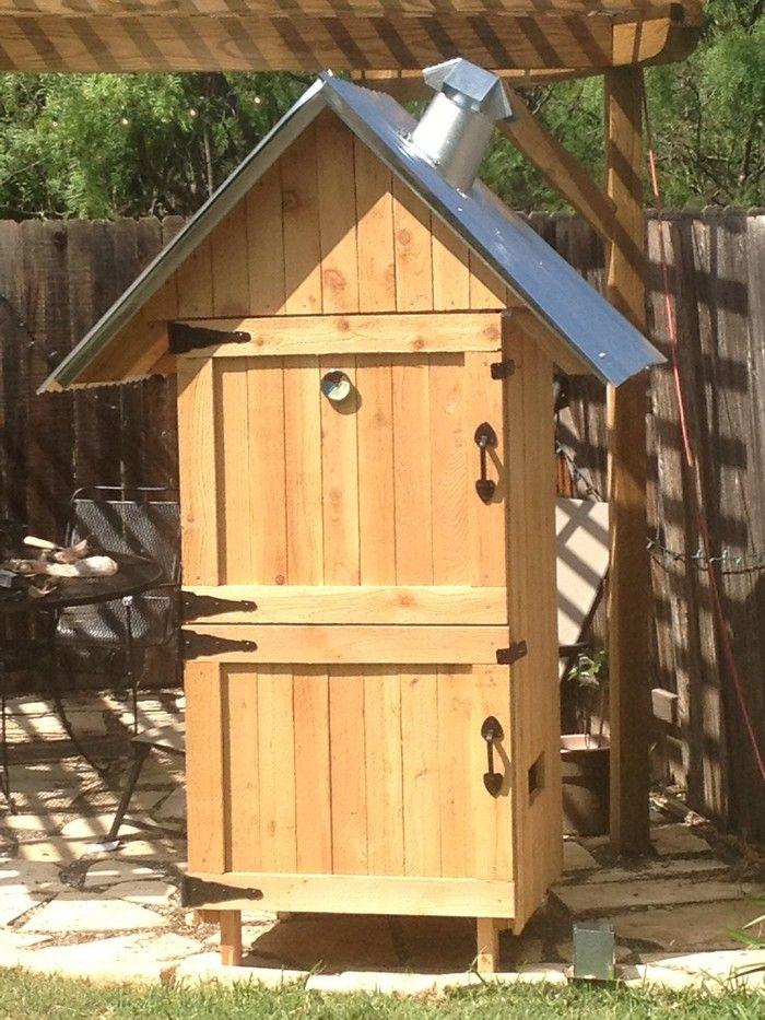 build your own timber smoker r ucherofen holz und g rten. Black Bedroom Furniture Sets. Home Design Ideas