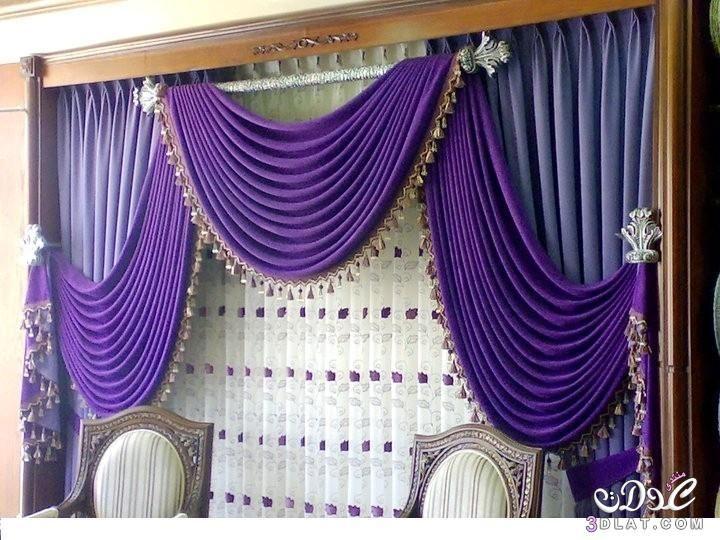 ستائر فخمة 2016 ستائر بالاوان زاهية Curtain Designs Curtains Living Room Decor