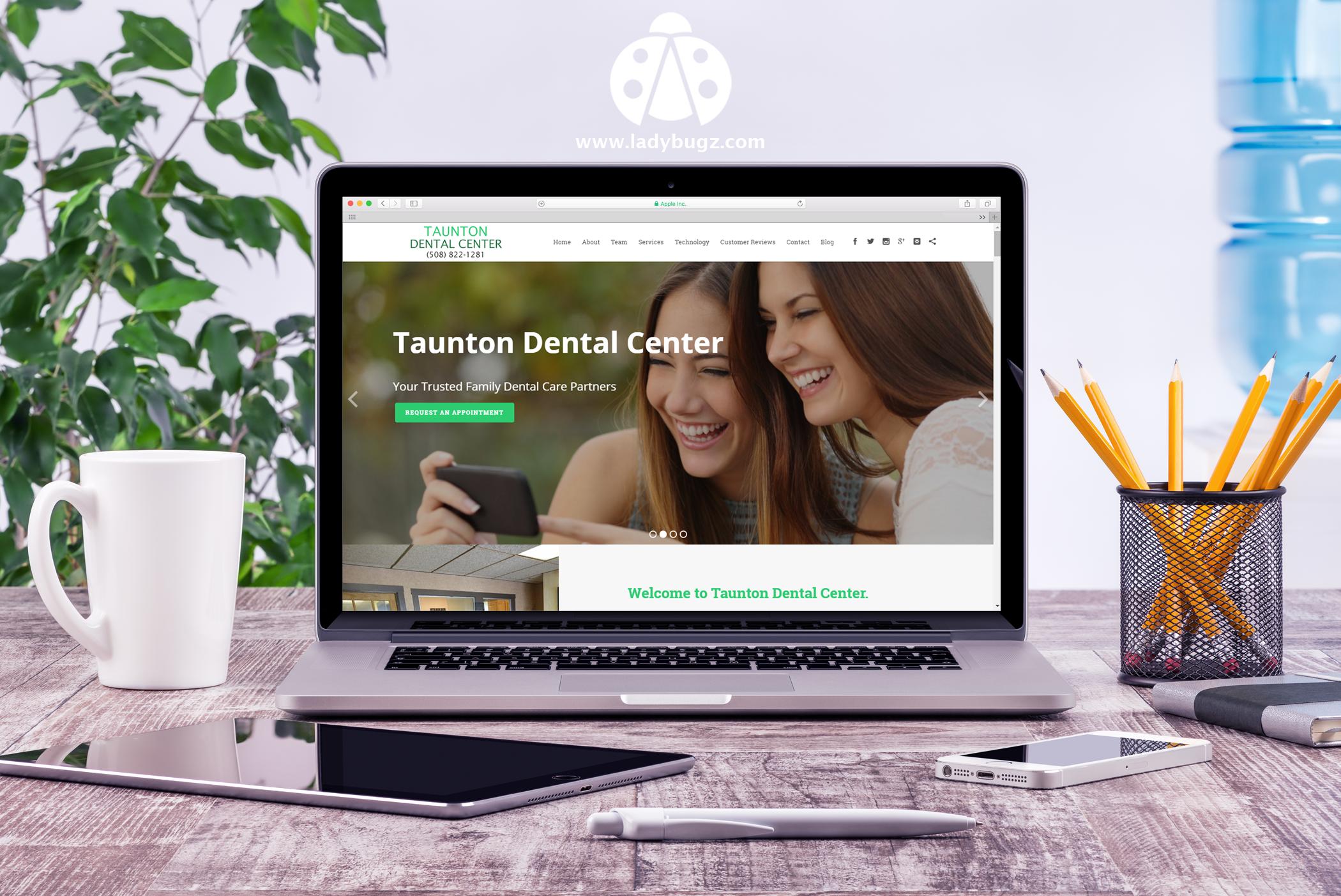 #responsive #webdesign #dentalmarketing #contentmarketing Designed new websites for dentist in Massachusetts