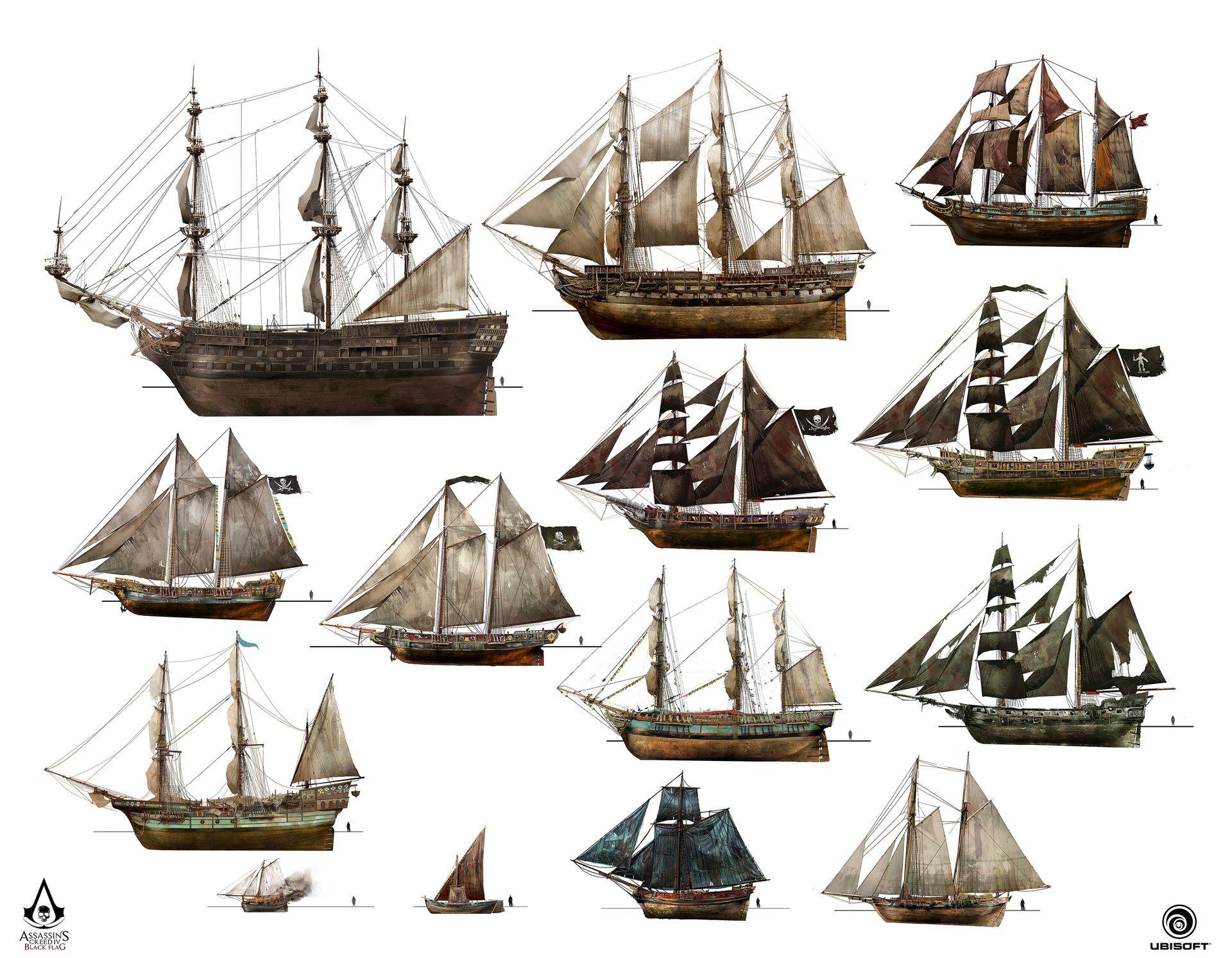 Artstation Assassin S Creed Iv Black Flag Unique Ships Design Teo Yong Jin Assassins Creed Black Flag Assassins Creed Black Flag