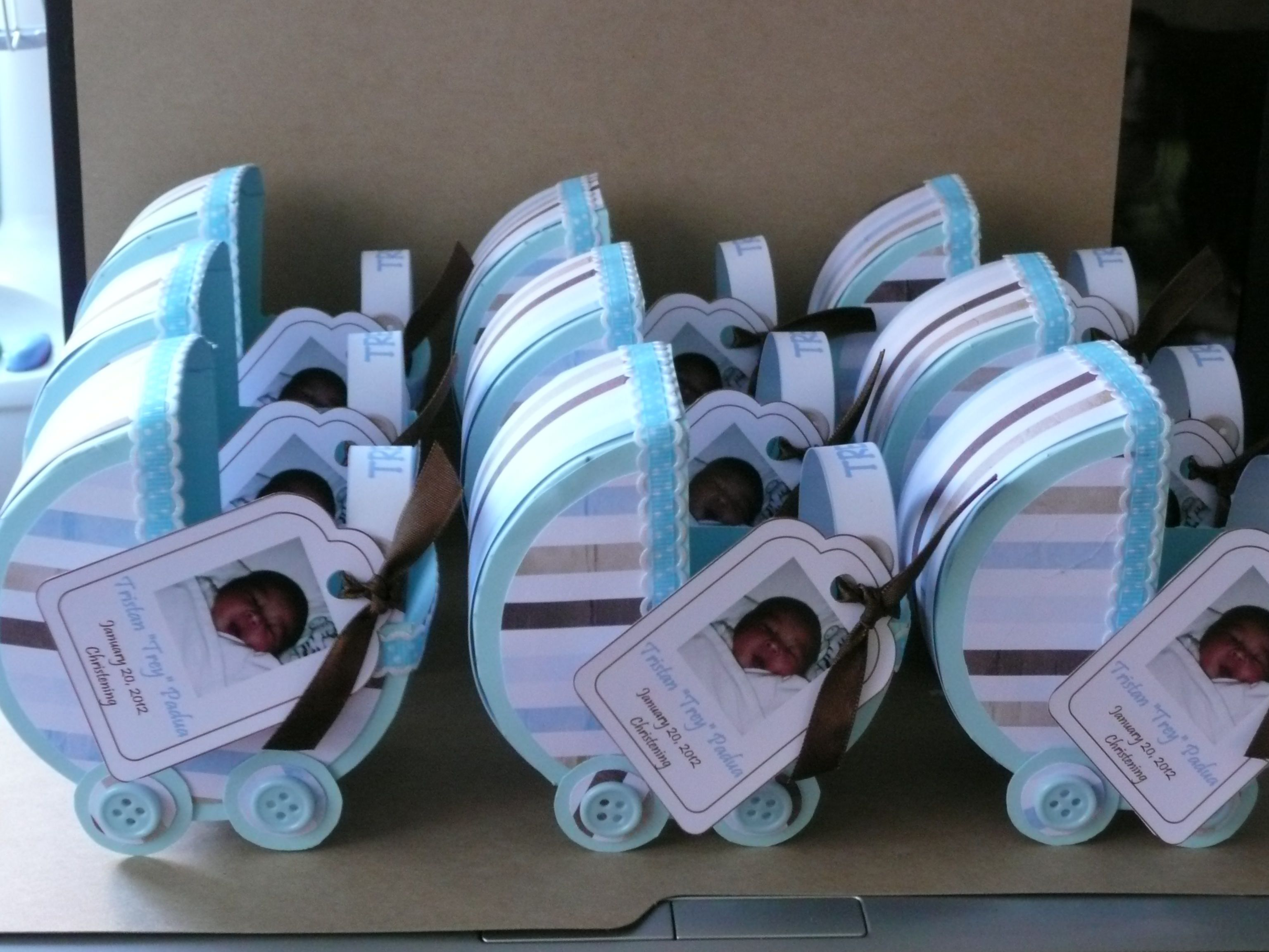 Crafts Baby Carriage Favor Good For Baby Shower Christening