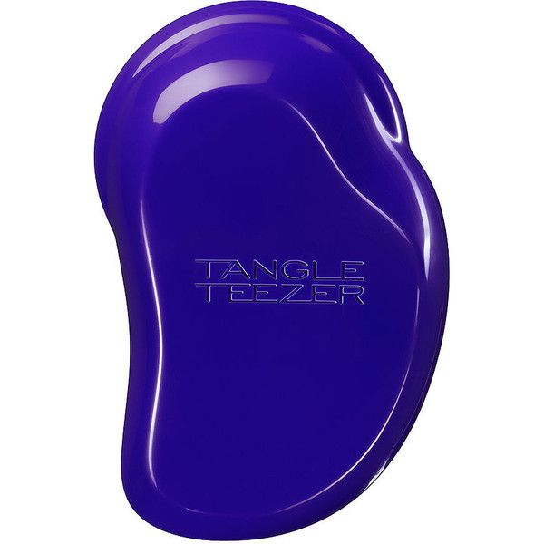 Tangle Teezer The Original Detangling Brush, Plum Delicious 1 ea ($15) ❤ liked on Polyvore featuring beauty products, haircare, hair styling tools, brushes & combs, hair brush, tangle teezer hairbrush, brush comb, detangling brush and detangler brush