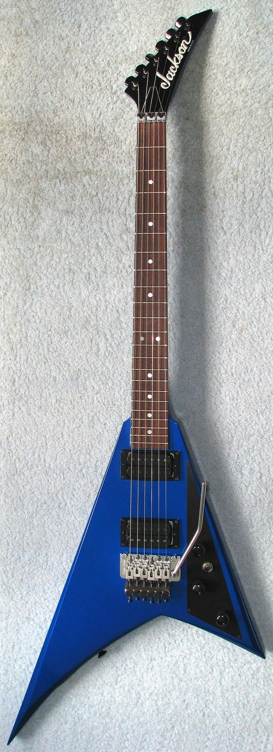 1985 jackson san dimas randy rhoads student metal gear san dimas jackson guitars  [ 542 x 1490 Pixel ]