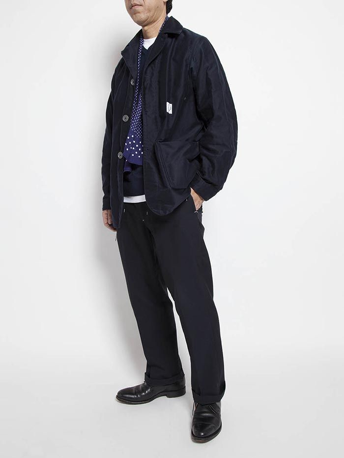 SPECIAL — No.CJ034 UTILITY WORK COAT / COTTON MOLESKIN