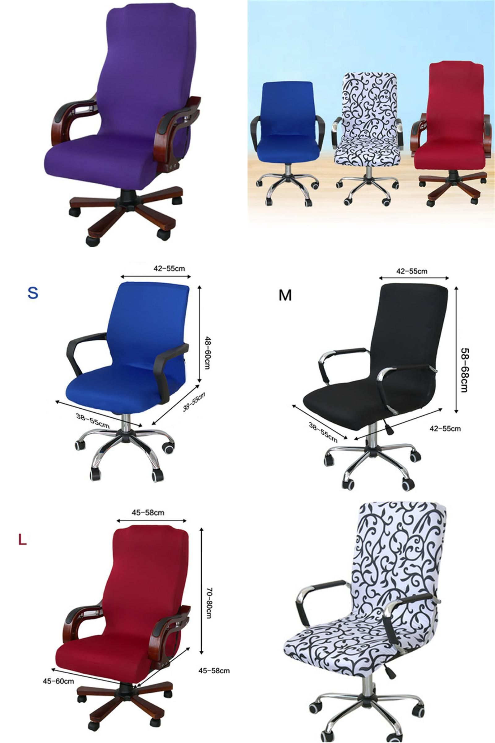 Visit to Buy 3size Elastic puter Chair Cover Spandex fice