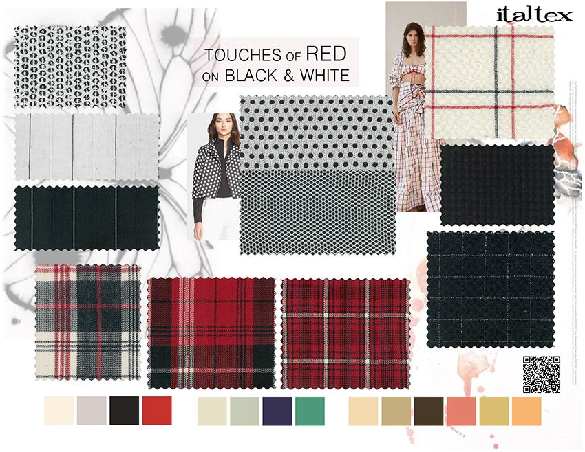 Spring Summer 2020 Fabric Trends.Online Italtex Color And Fabric Fashion Trends For