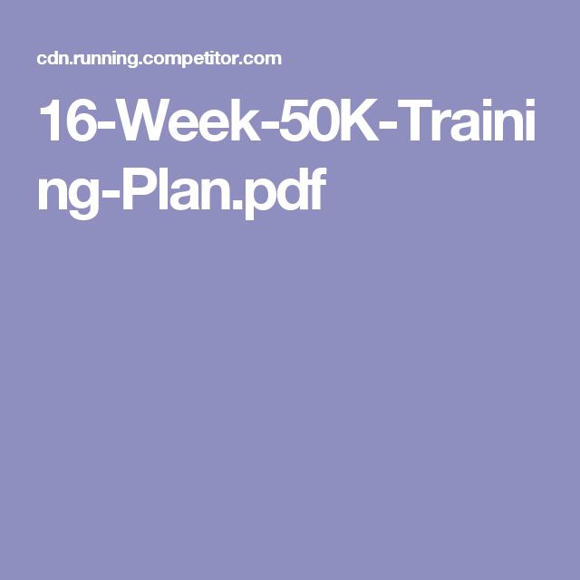 Training runners pdf for brain