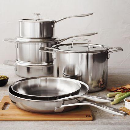 Demeyere® Industry5 10-Piece Cookware Set | Sur La Table & Demeyere Industry5 10-Piece Cookware Set | Cookware set Cookware ...