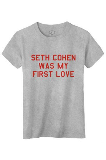 seth cohen was my first love