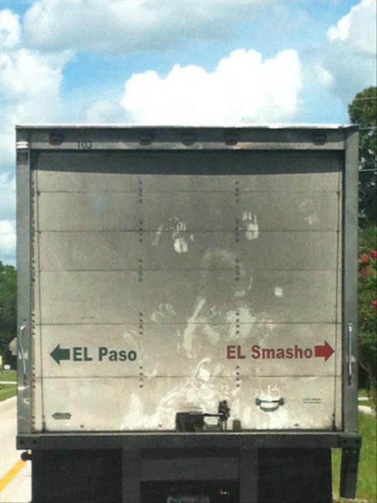 22 Of The Funniest Trucks You'll See All Week (With images