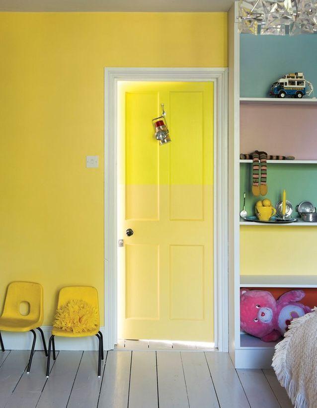 Peinture chambre enfant  nos idées pleines de style - Elle