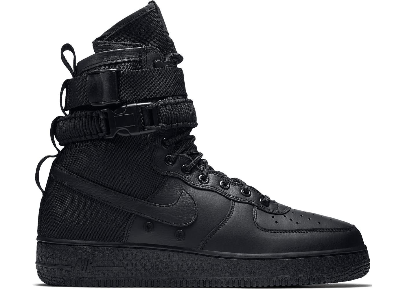 c8a9ce1b87a6 Nike SF Air Force 1 High Triple Black in 2018