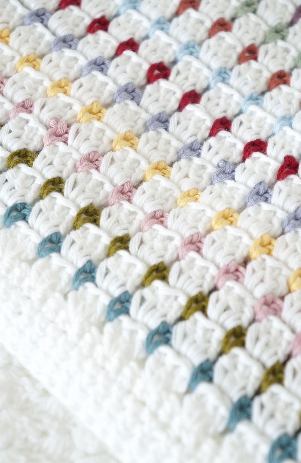 Annie Baby Blanket pattern by Little Doolally | Manta, Cobija y ...