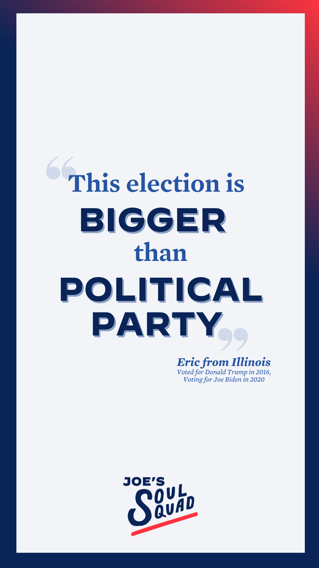 This Election Is Bigger Than Political Party Political Party Democratic National Convention Politics