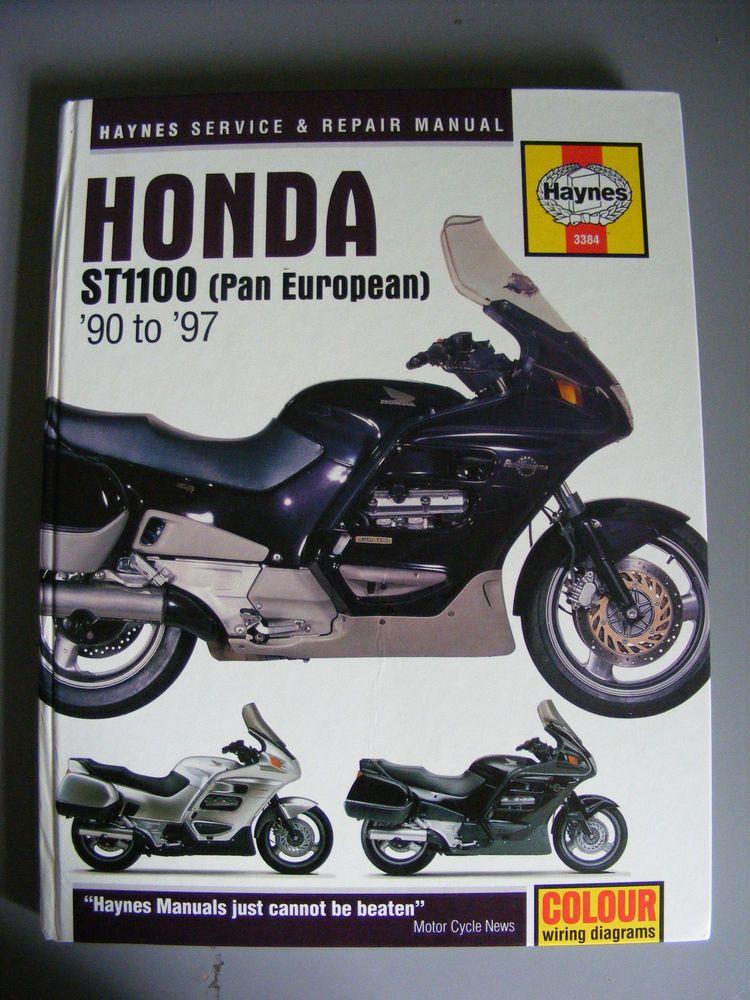 haynes honda st1100 pan european service and repair manual uk us abs rh pinterest com Honda ST1300 Honda Fireblade