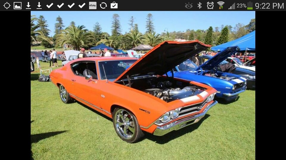 I loved this beast. My first american muscle car 69 chevelle. Ls2 ...