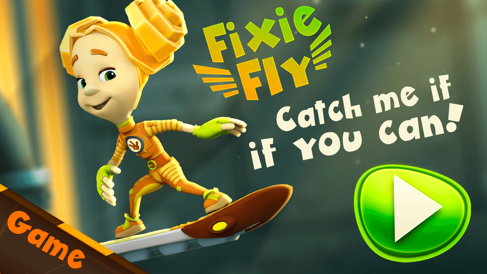 The train is broken! Explore this endless runner and