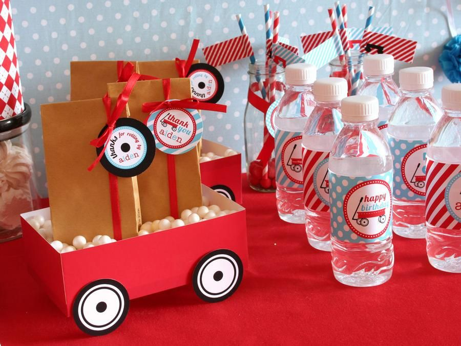 Red Wagon Theme Radio Flyer Parties