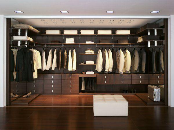Begehbarer kleiderschrank frau schuhe  begehbearer kleiderschrank elegant damen herren | Sweet Home ...