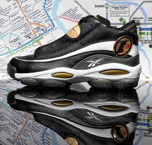 Reebok Answer 1 Black Gold Release Date and Official Images