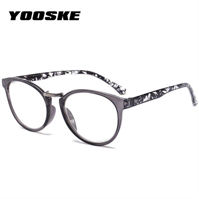 f566a5eb84 YOOSKE Women Cat Eye Reading Glasses Vintage Presbyopia Eyeglasses Fashion  Flower Print Diopter 1.5 .2.0 2.5 3.0 3.5 4.0 Review