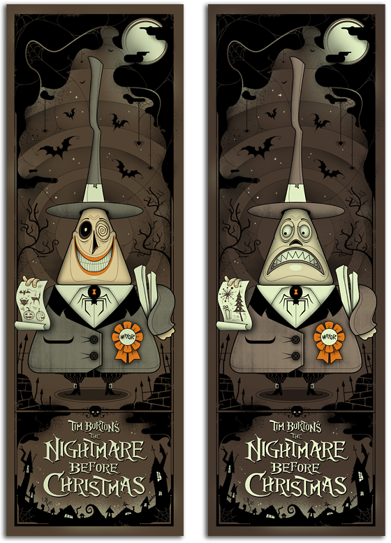 @GrahamErwin the Mayor #TheNightmareBeforeChristmas The Mayor from Nightmare Before Christmas. ABSOLUTELY one of my all-time favorite sets. SO happy to own both.....