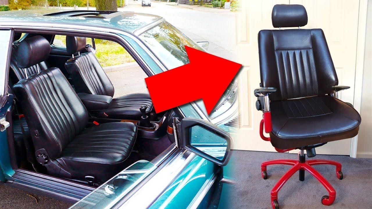 asiento coche para silla oficina