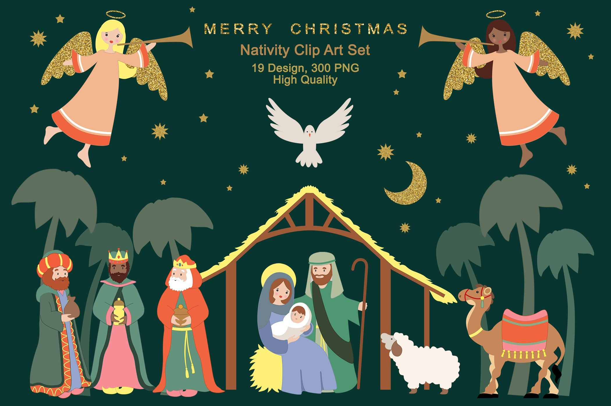 Religious Christmas Clipart.Pin On Graphic Design Photoshop