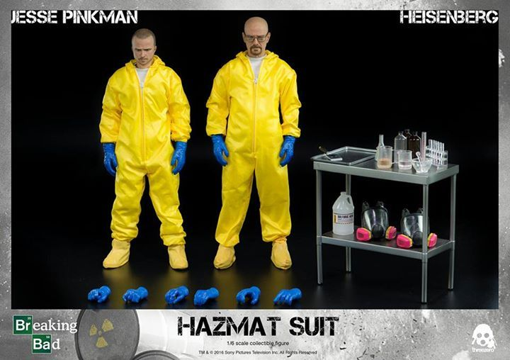 Available To Preorder Later This Evening Clknetwork Toyz24 Toys Rchelicopters Actionfigures Stuffedanimals Blocks Breaking Bad Heisenberg Hazmat Suit