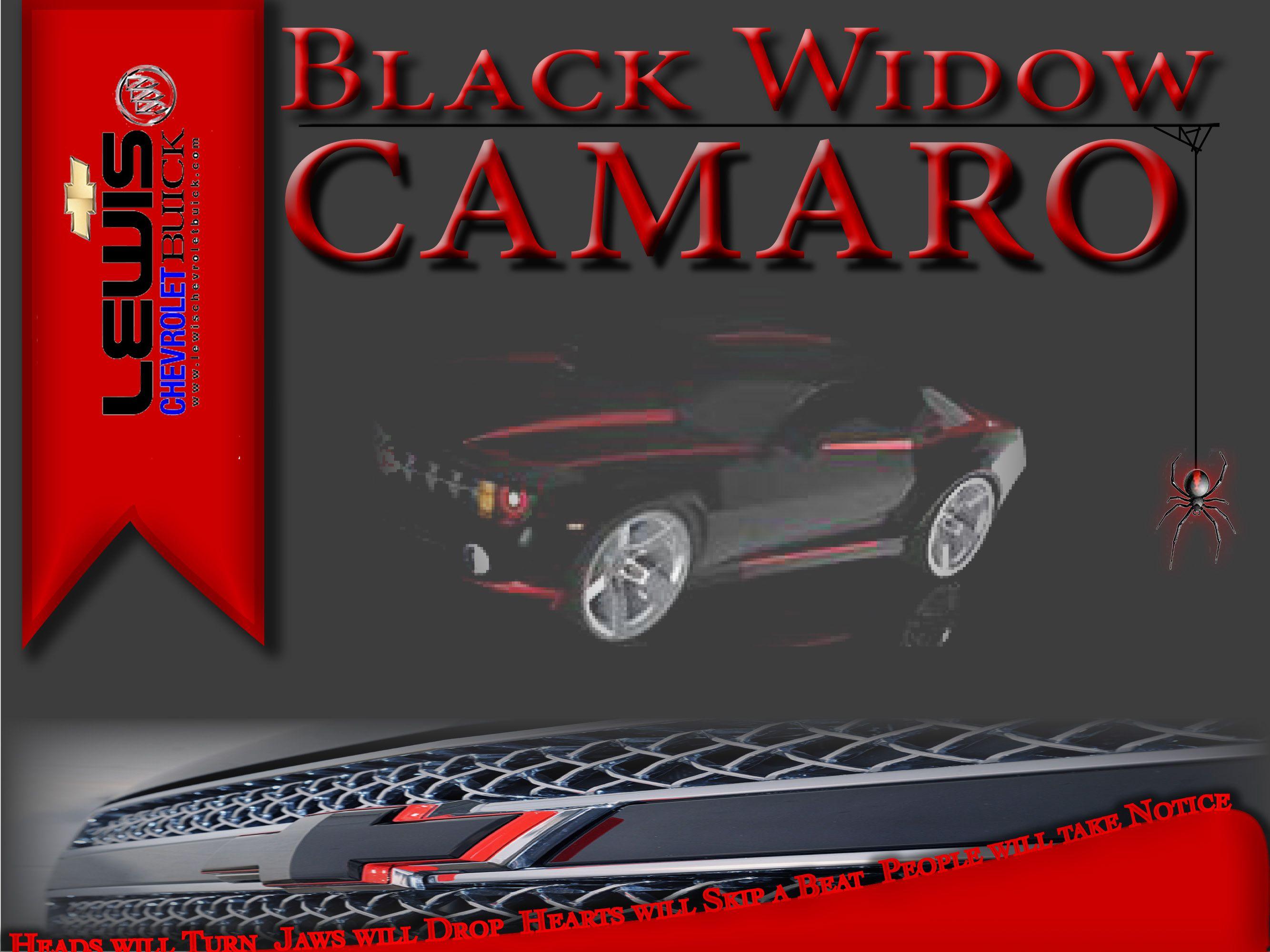 Black widow camaro camaro custom cars widow
